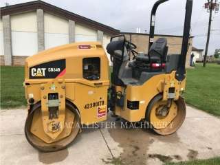 Used 2014 Caterpillar CB34B For Sale | MacAllister Used